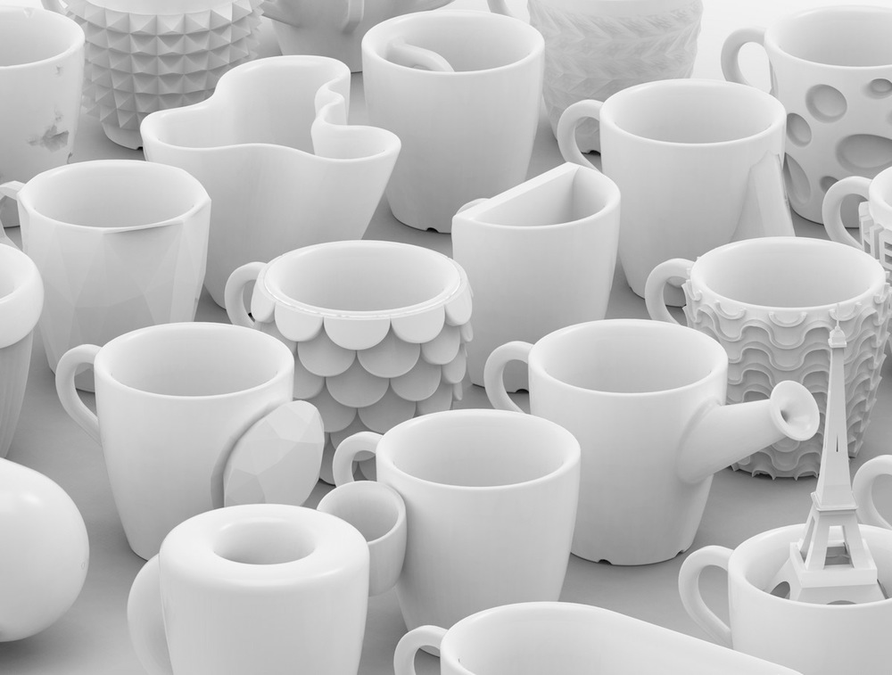 One coffee cup a day 30 days 30 cups cunicode Where can i print 3d objects