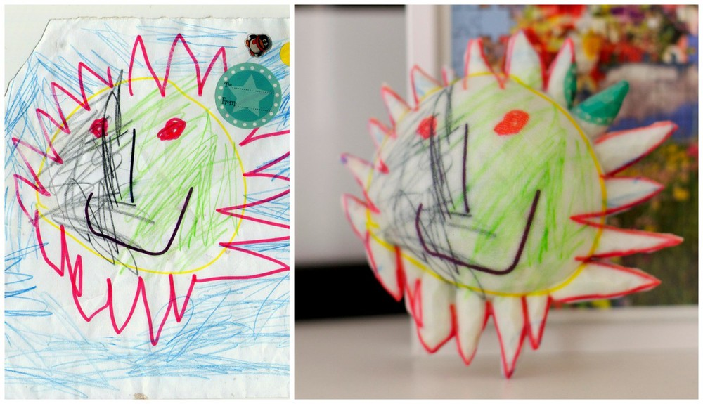 Crayon Creatures | $199Figurines from children's drawings. - Figurines from children's drawings.