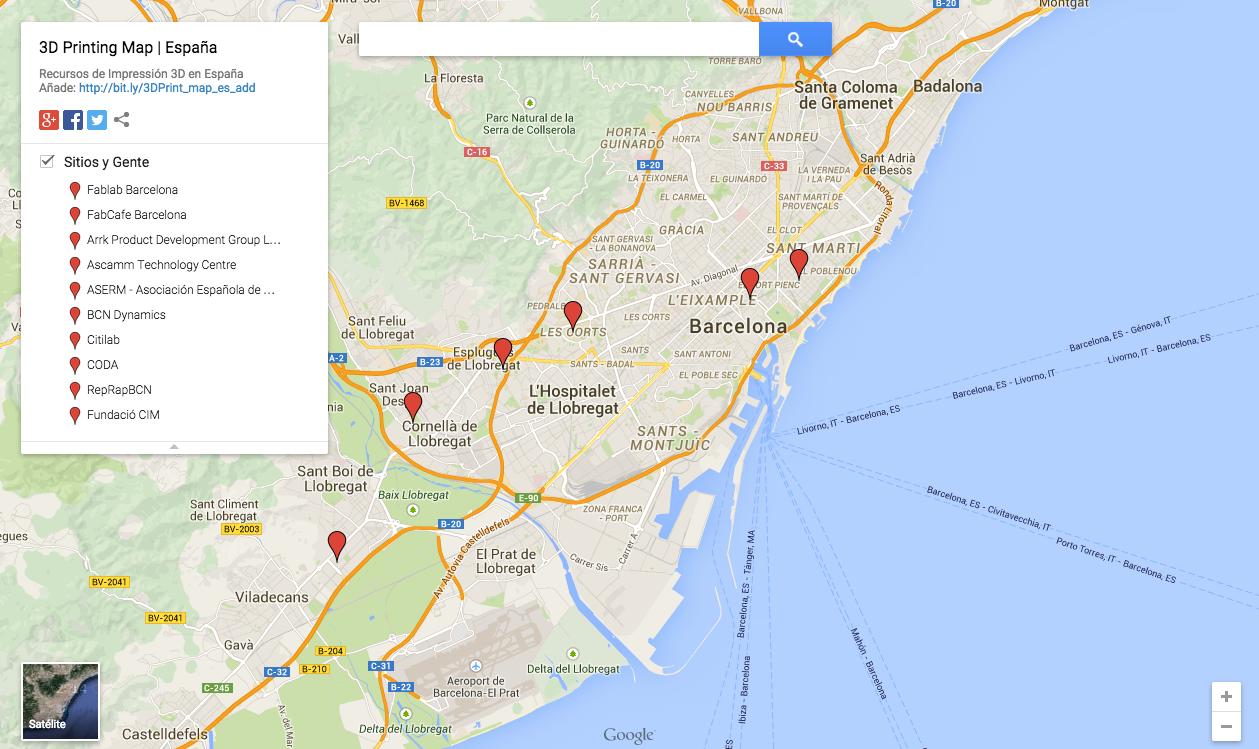 Map Of Spain For Printing.3d Printing Map Spain Cunicode Digital Craftsmanship