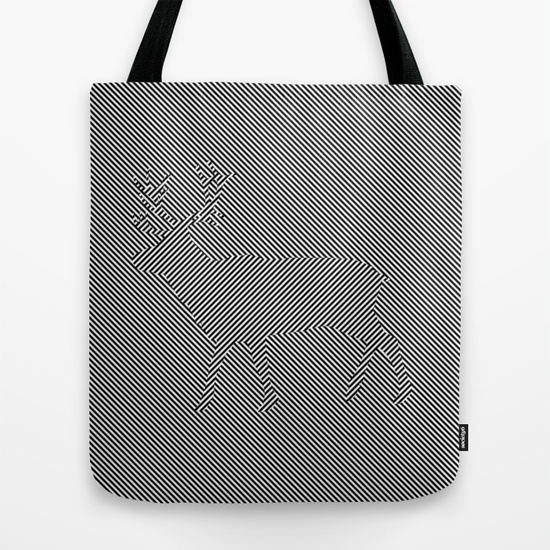 Deerdelic Bag - Our quality crafted Tote Bags are hand sewn using durable, yet lightweight, poly poplin fabr