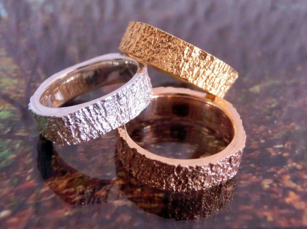 Tree Ring - Bark 3D Scan /ultranature ring /$88