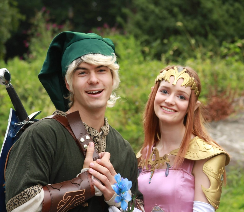 "Link & Zelda, ""The Legend of Zelda: Forsaken Fire"""