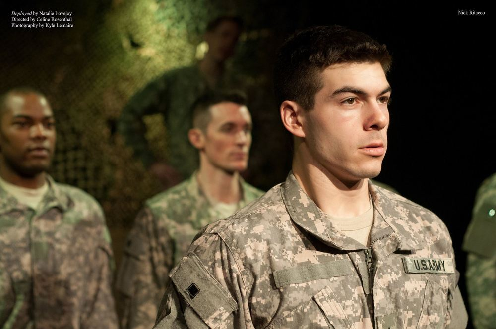 "Pvt. Michael Dunalley, ""Deployed, the Musical"""