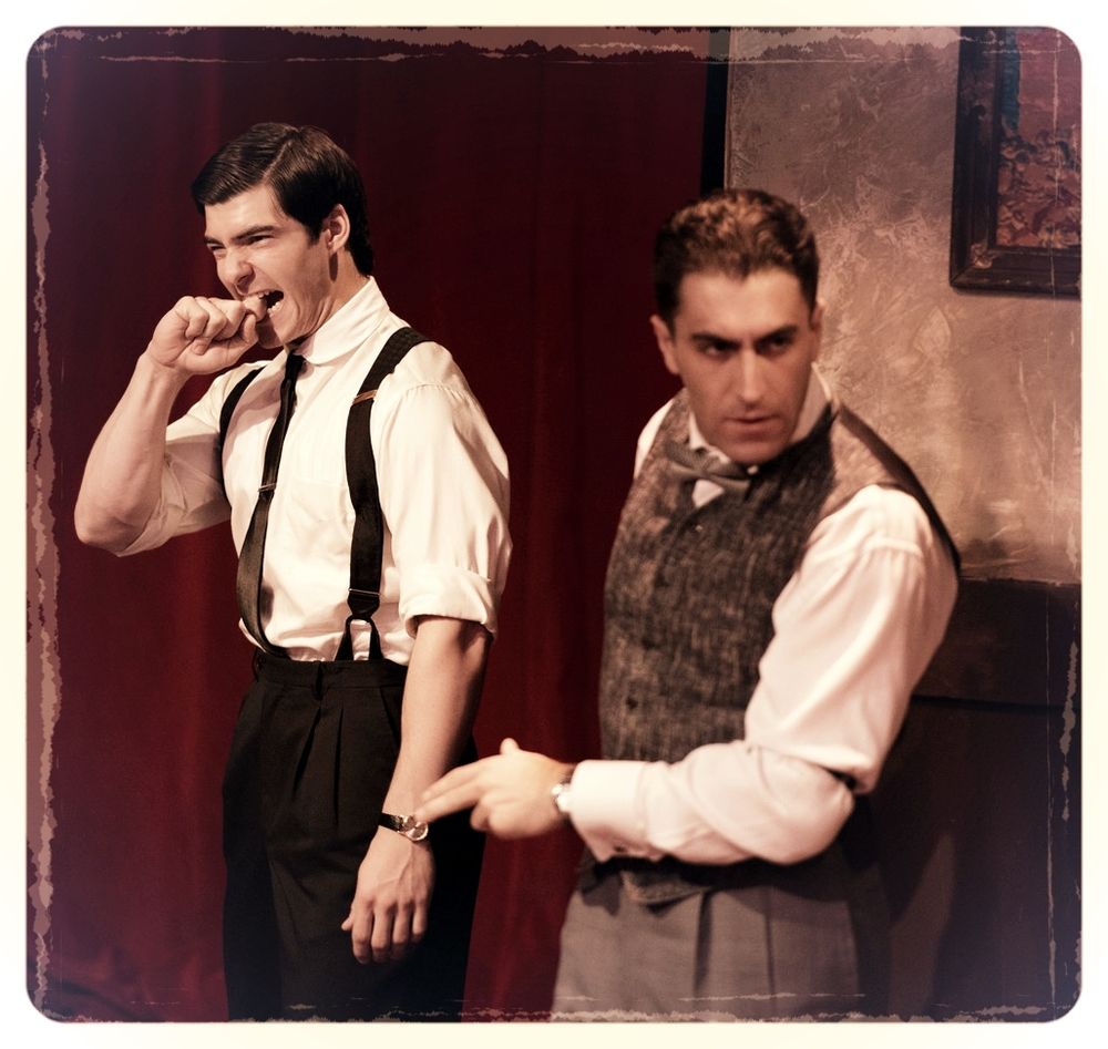 "Giovanni & Tomaso (Christopher Tocco), ""Strictly Dishonorable"""