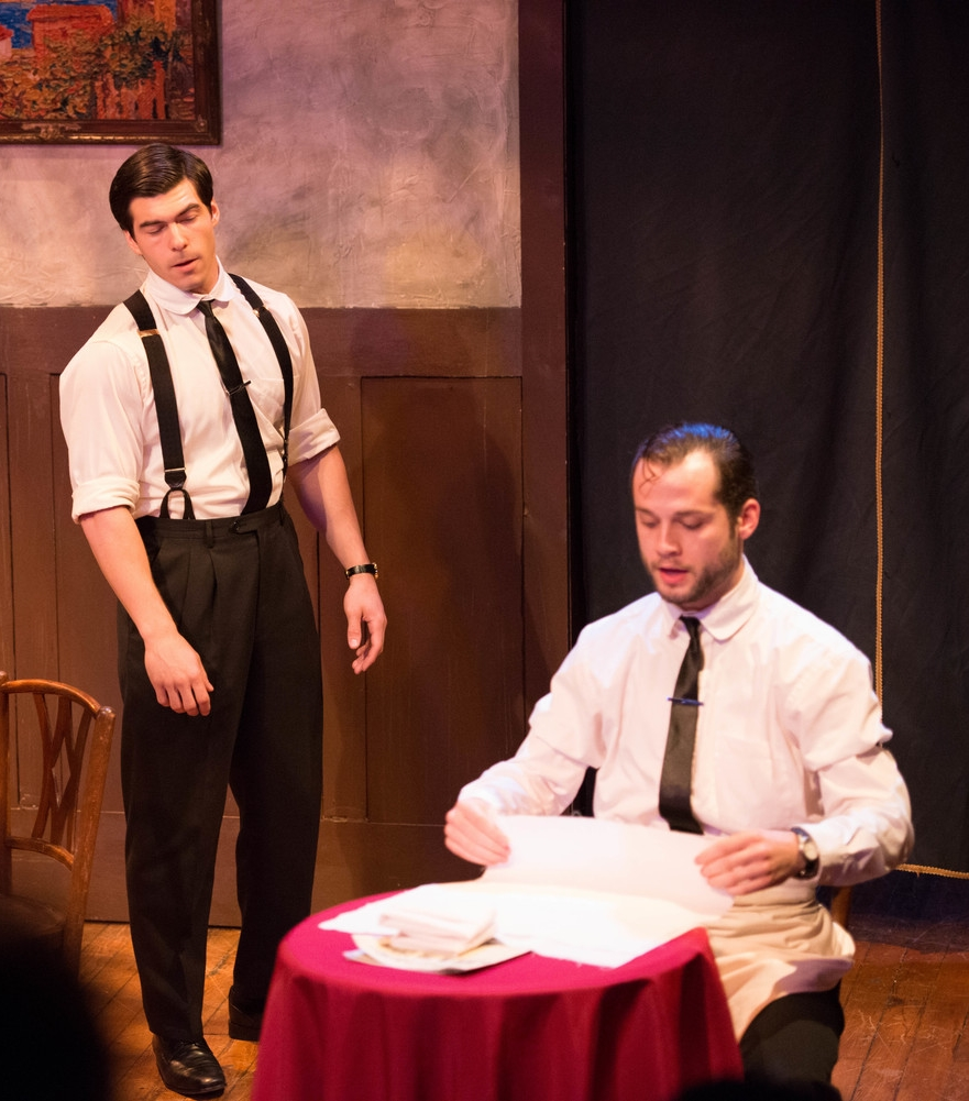 "The Attic Theater's ""Strictly Dishonorable""/Giovanni & Mario (Ryan Trout)"