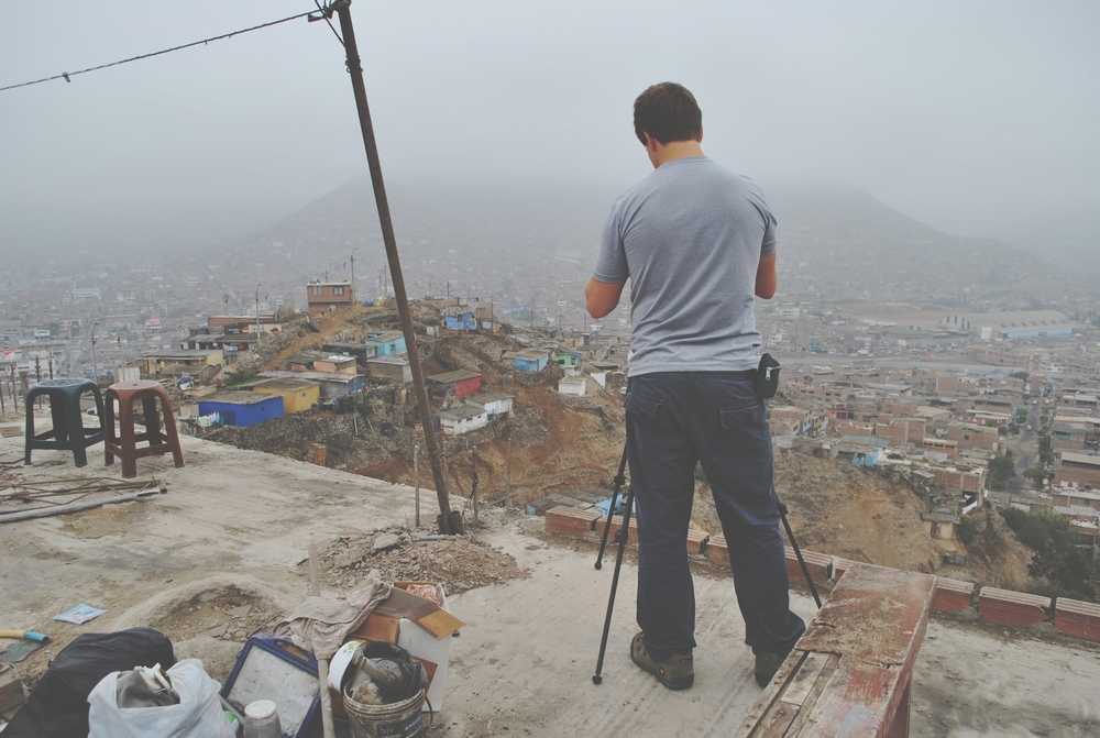 Photo: No matter where you send us, we always go the extra mile to  get the shot  we think you need for your film. [Latin Link, Peru, Lima]