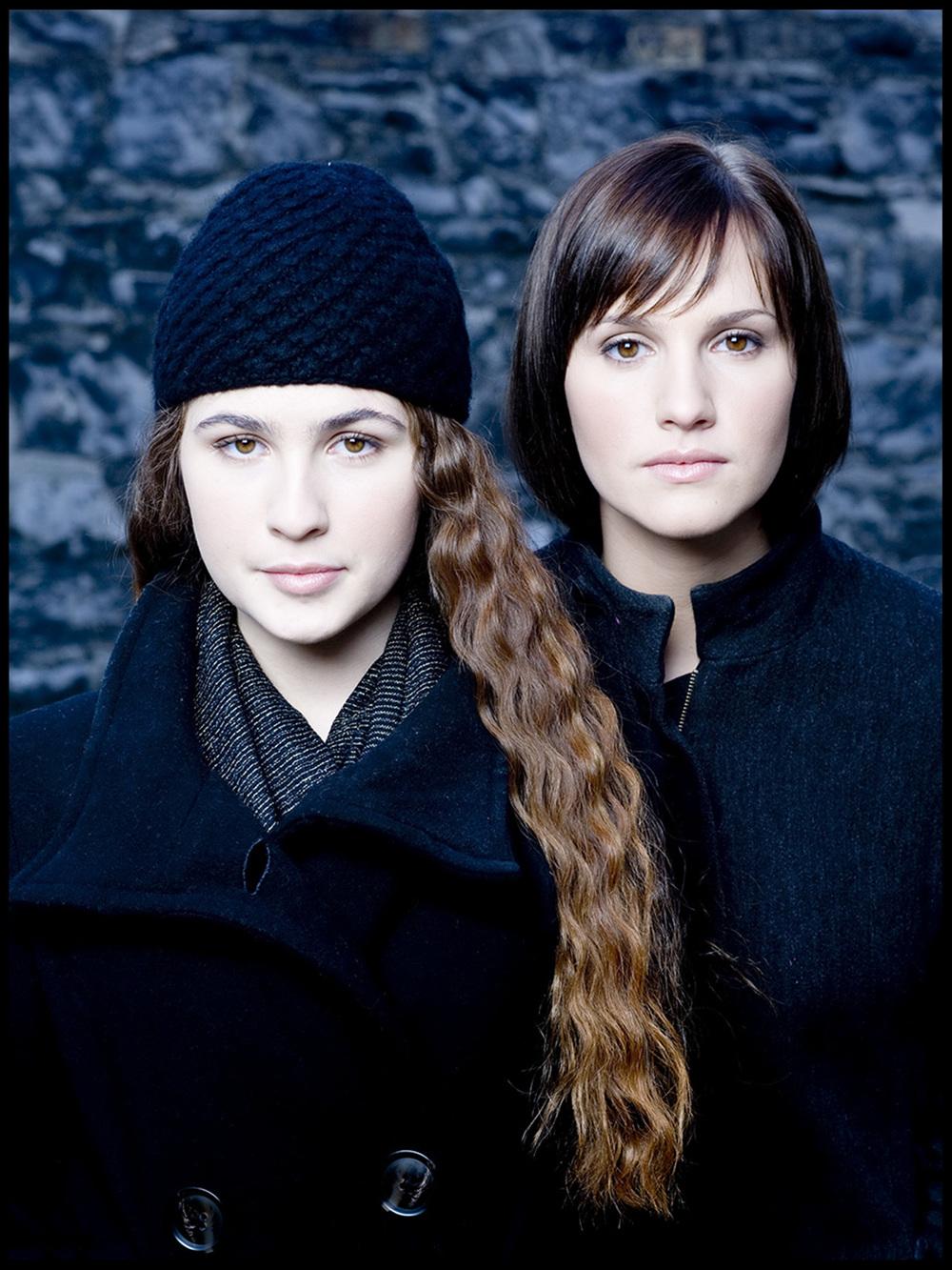 Sisters Roisin Murphy & Ruth Bradley