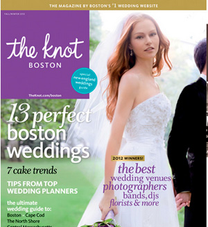 Norma Jean & Patrick's Hotel Marlowe wedding was featured by The Knot magazine.