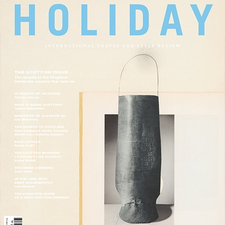 Holiday Magazine is a new magazine with history - and I need to get my hands on their latest, Scottish, issue!