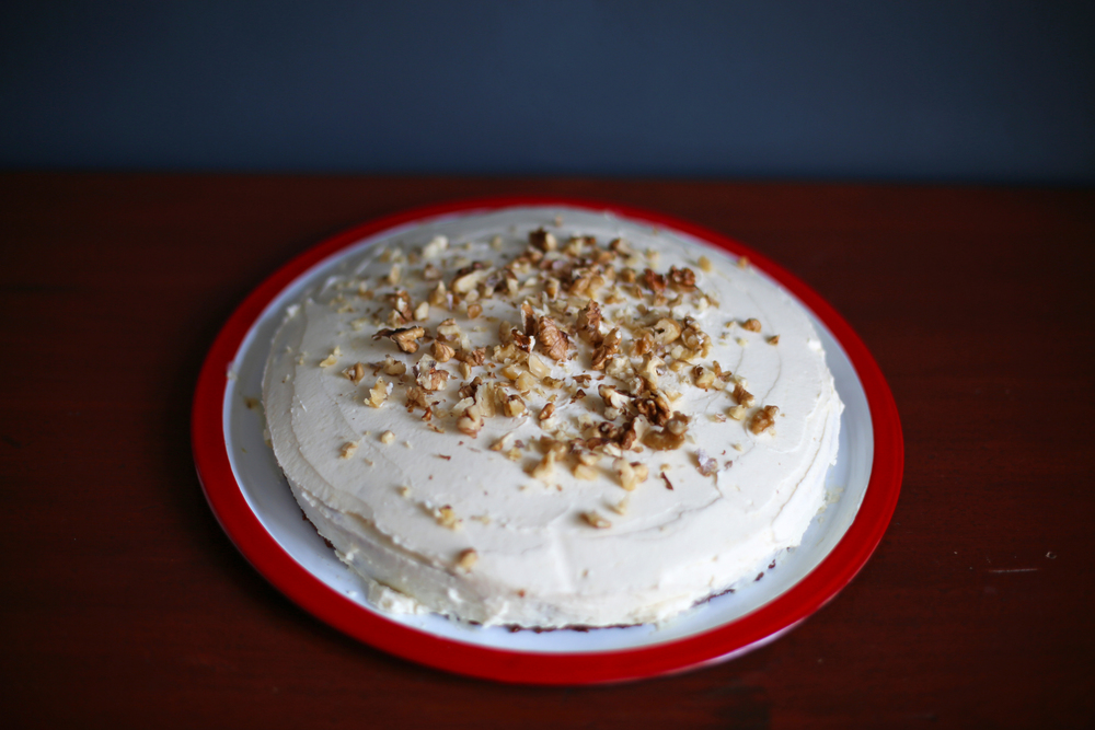 Carrot walnut cake in a pavilion its about time i share my carrot cake recipe with you after all ive been hyping this cake up via my twitter and instagram channel for the past week or forumfinder Images