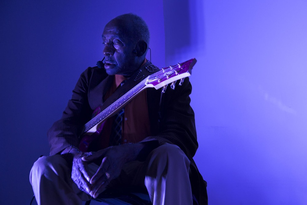 Legendary Blues Man Leo Bud Welch, an 82 year old Mississippi-based Blues and Gospel musician playing live in London for the first time.  For Rock Solid Events.