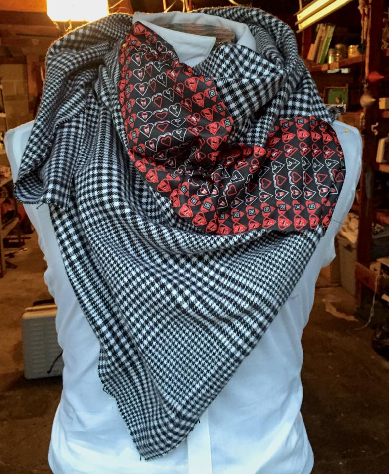 Red Hearts Grey Flannel Scarf Heart.jpg