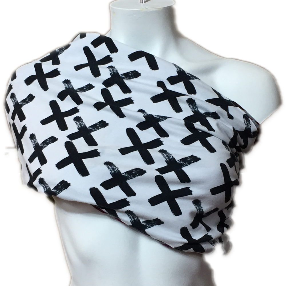 Black & White X's Jersey