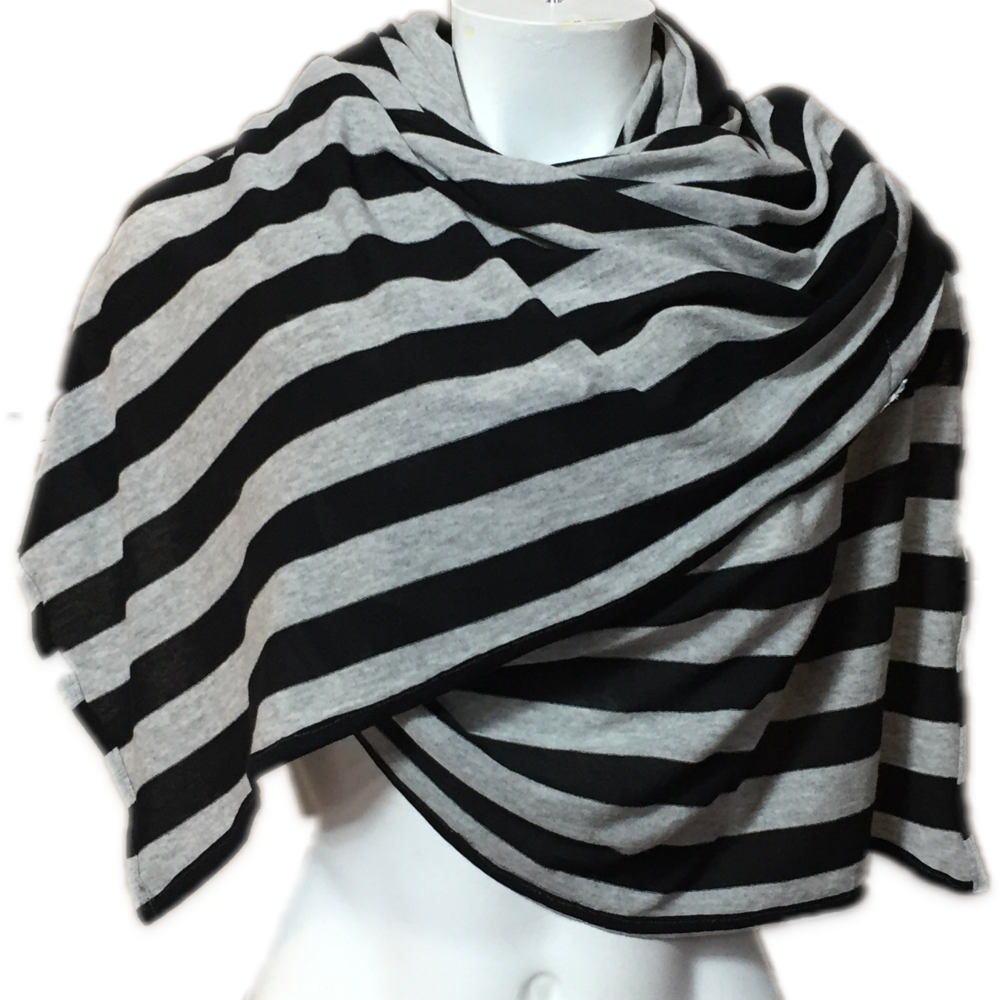 Black & Grey Stripes Jersey