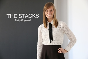 A collection by Emily Copeland, BFA'15, for her thesis, titled The Stacks, was recently on display at the Artlab Gallery in the John Labatt Visual Arts Centre. This was Copeland's first solo exhibit.   Photo by Heather Hughes.