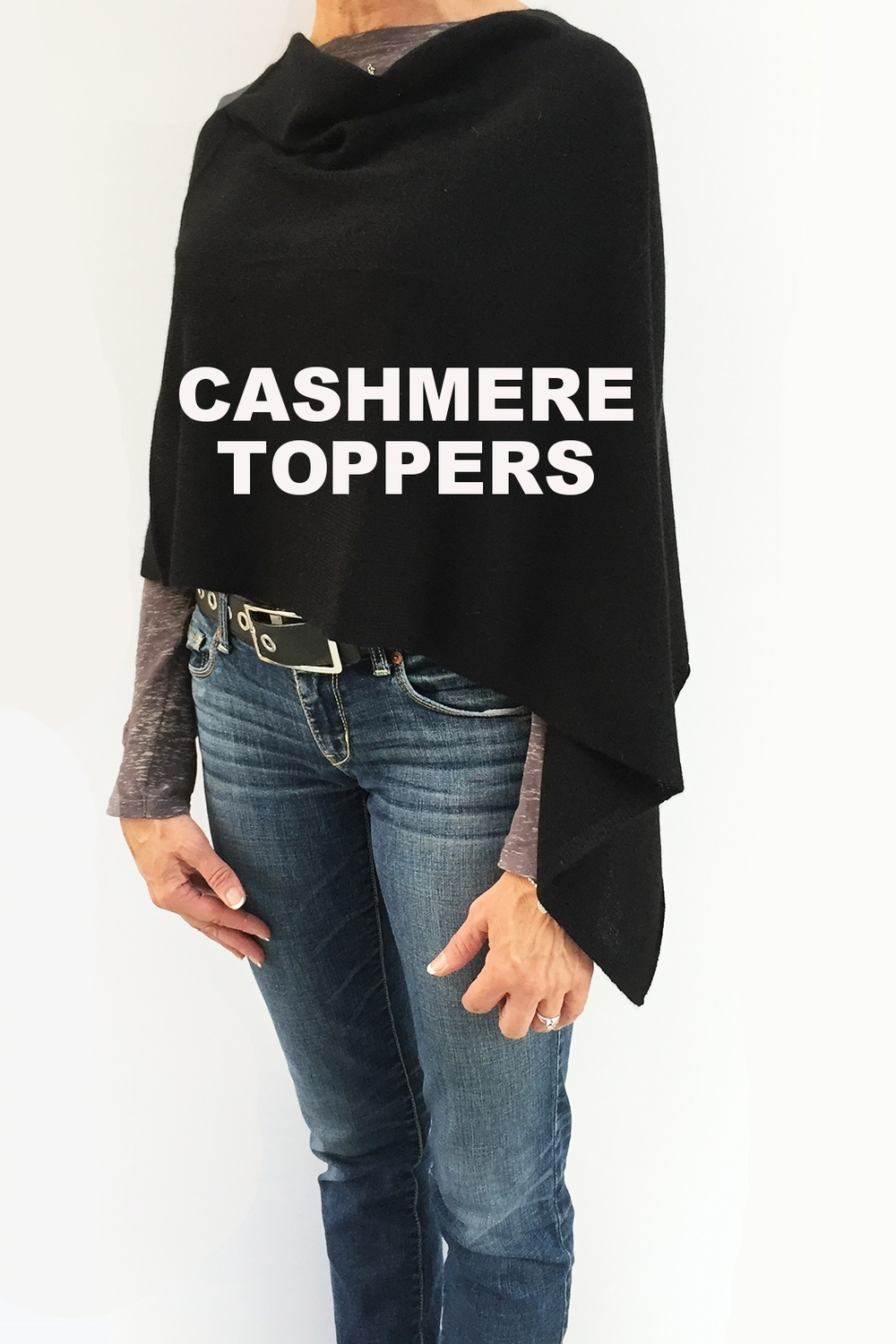 CASHMERE TOPPERS