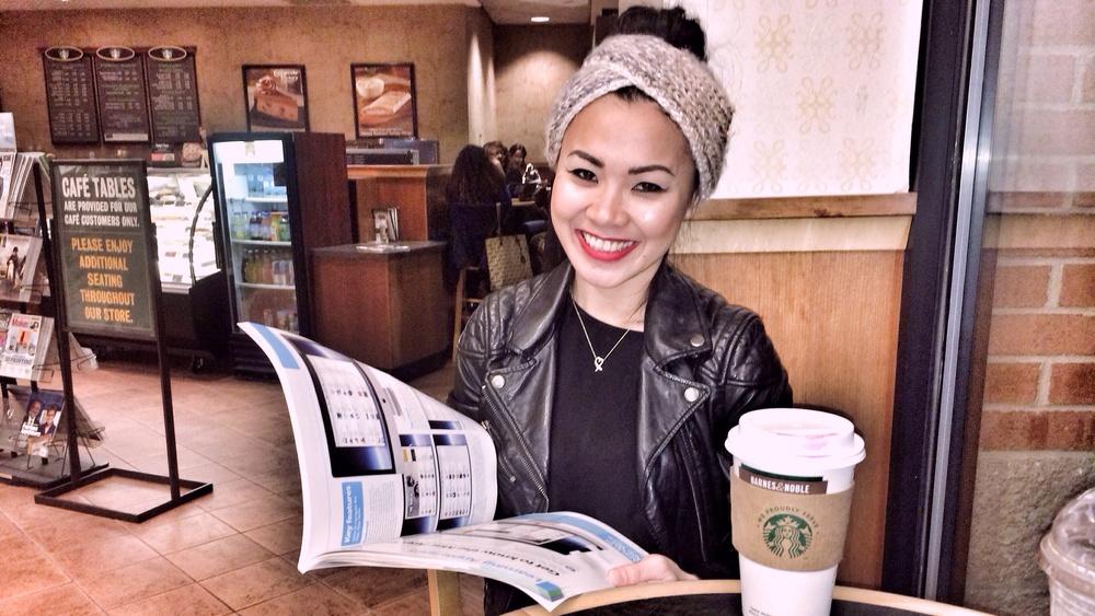 dellacoffeeatthebookstore-pic1