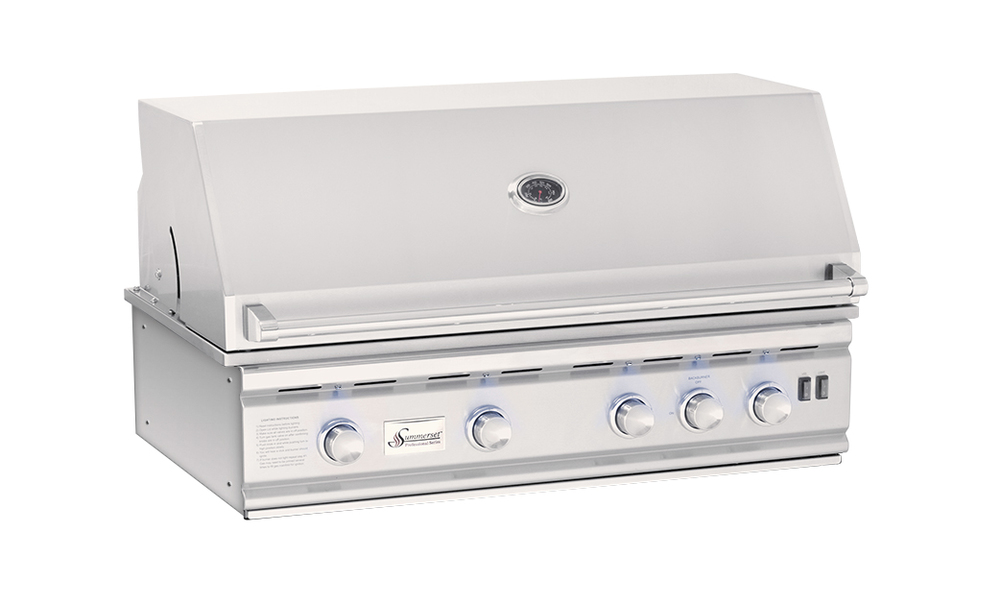 "Summerset 38"" Stainless Steel Sizzler"