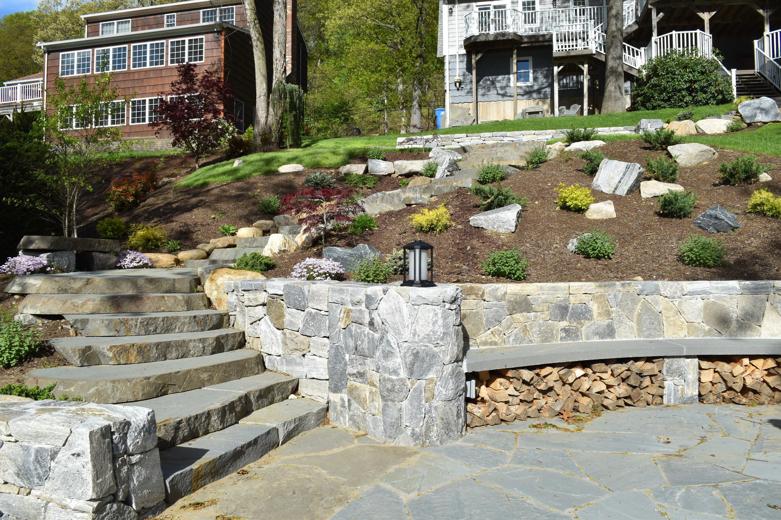 haynes stone aggregate masonry and landscaping in connecticut