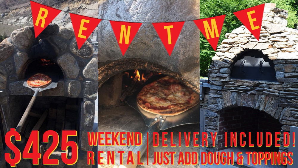 Pizza Ovens for rent
