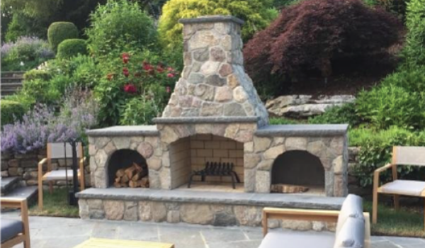 4 Outdoor Fireplace Ideas Haynes