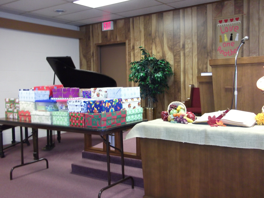 40 Operation Christmas Child Shoeboxes