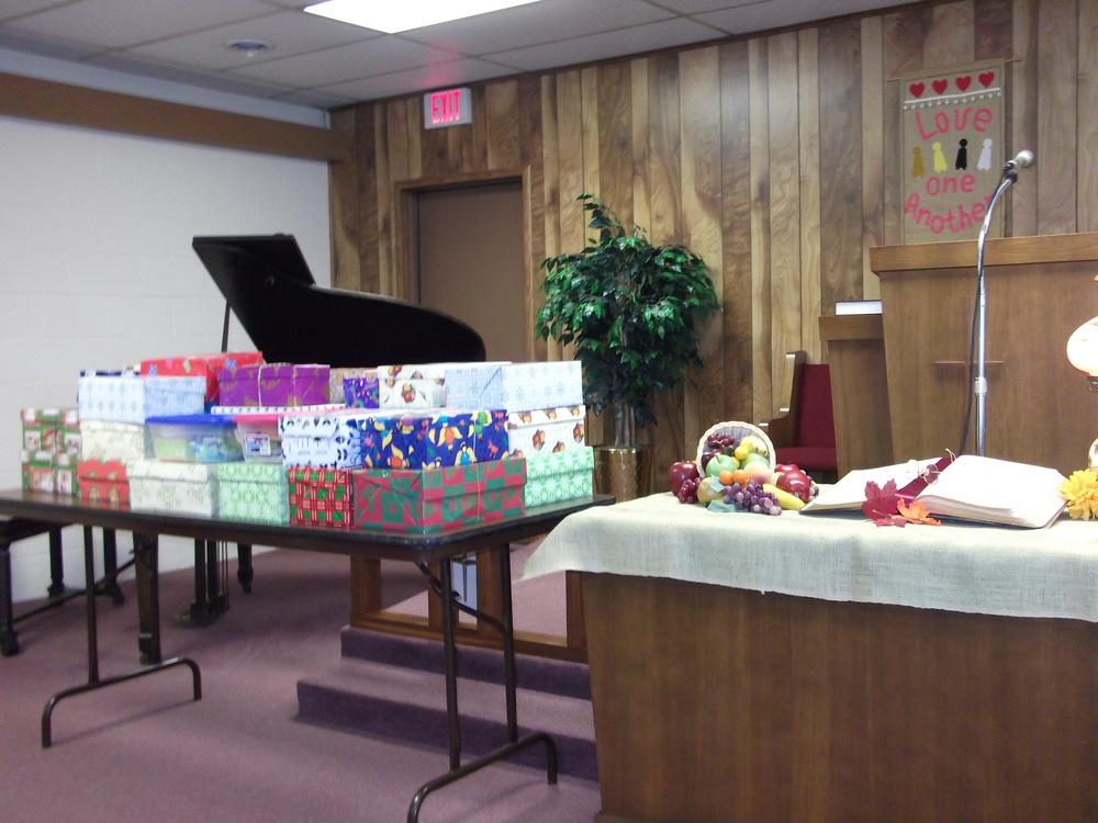 40 Operation Christmas Child Shoeboxes