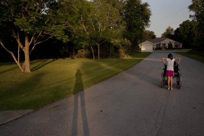 Alyssa, Chloe', & my shadow