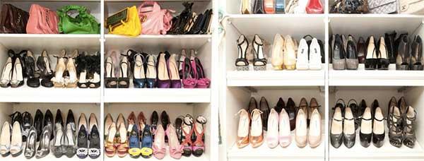 Shoe Closet Organizing