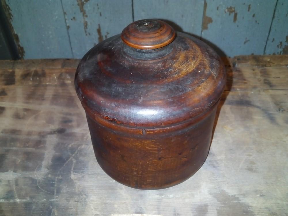 Treen Sugar Bowl