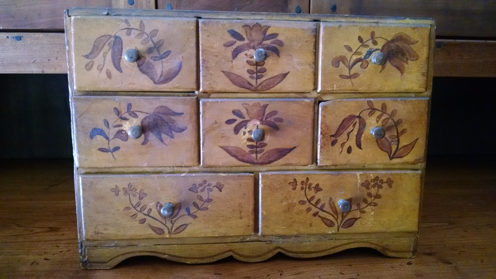 New England 8 drawer Spice box