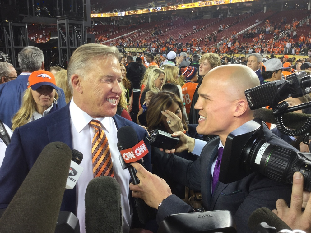 Coy Wire Interviews John Elway