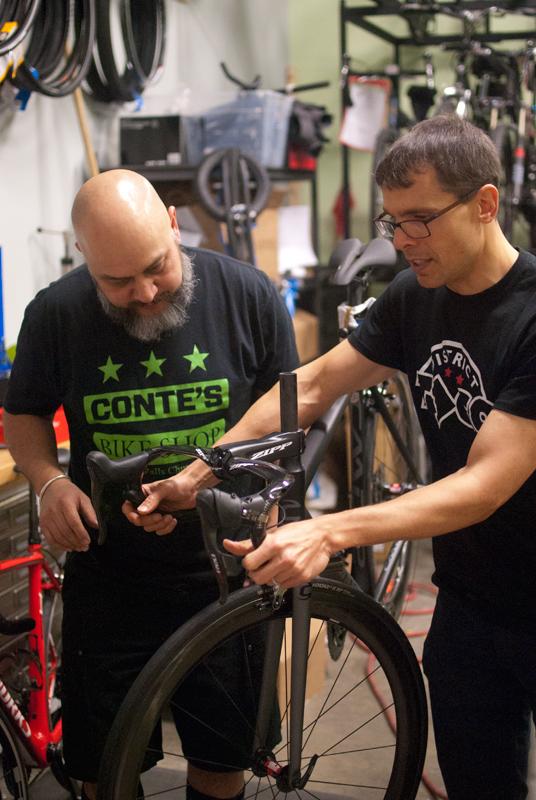Setting-sprint-shifters-Paul-and-Freddy.jpg
