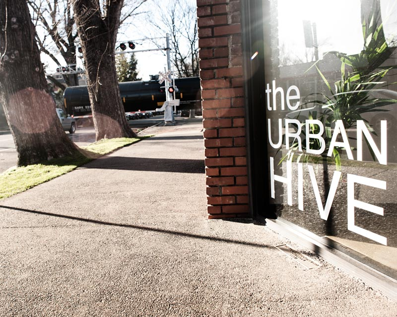 The Urban Hive is housed in a former Union Pacific warehouse at the corner of H St. and 20th.