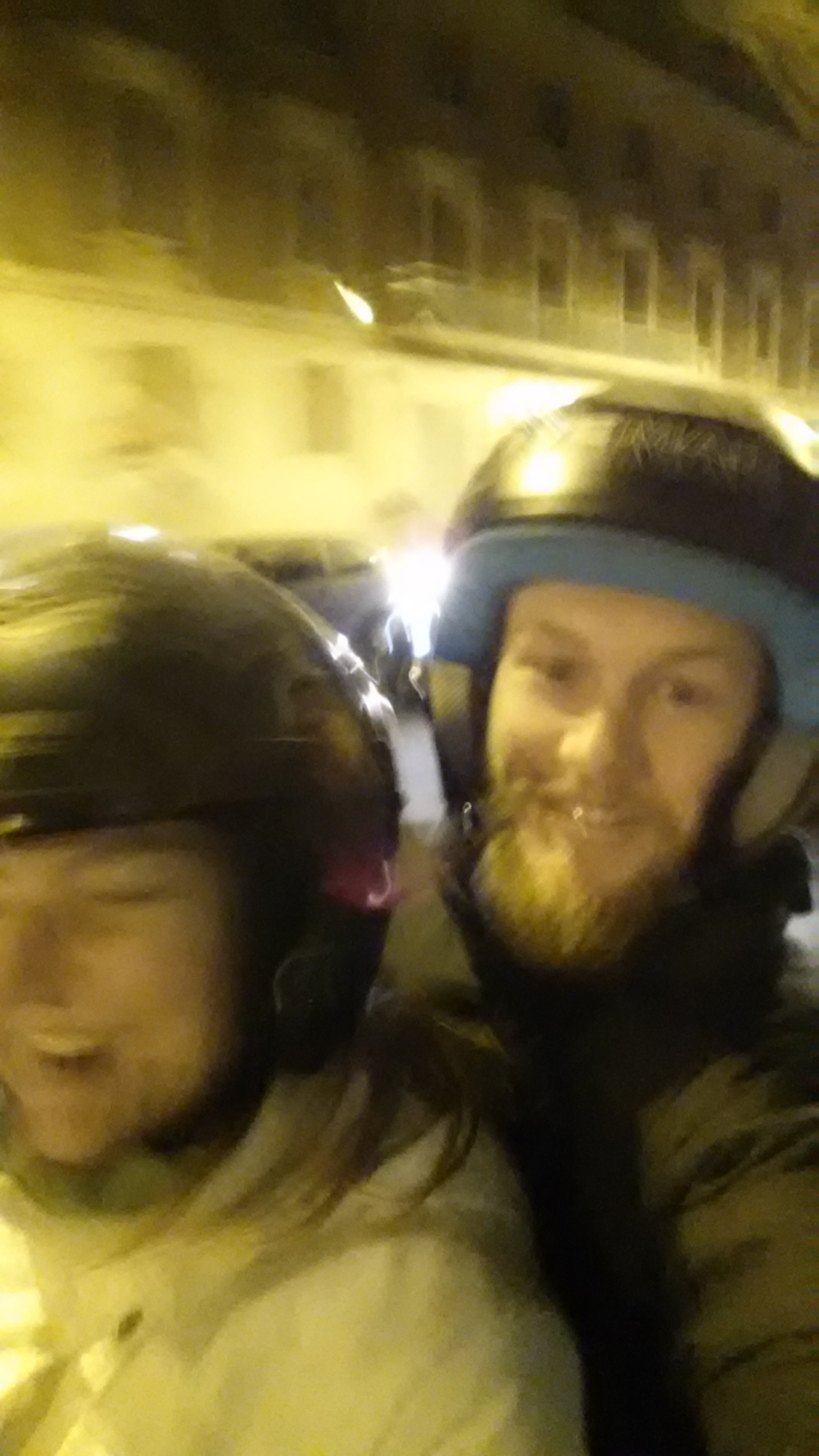 scooter tour selfie