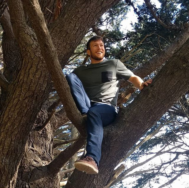 When she sneaks a candid photo of you climbing a tree and captures your child-like grin