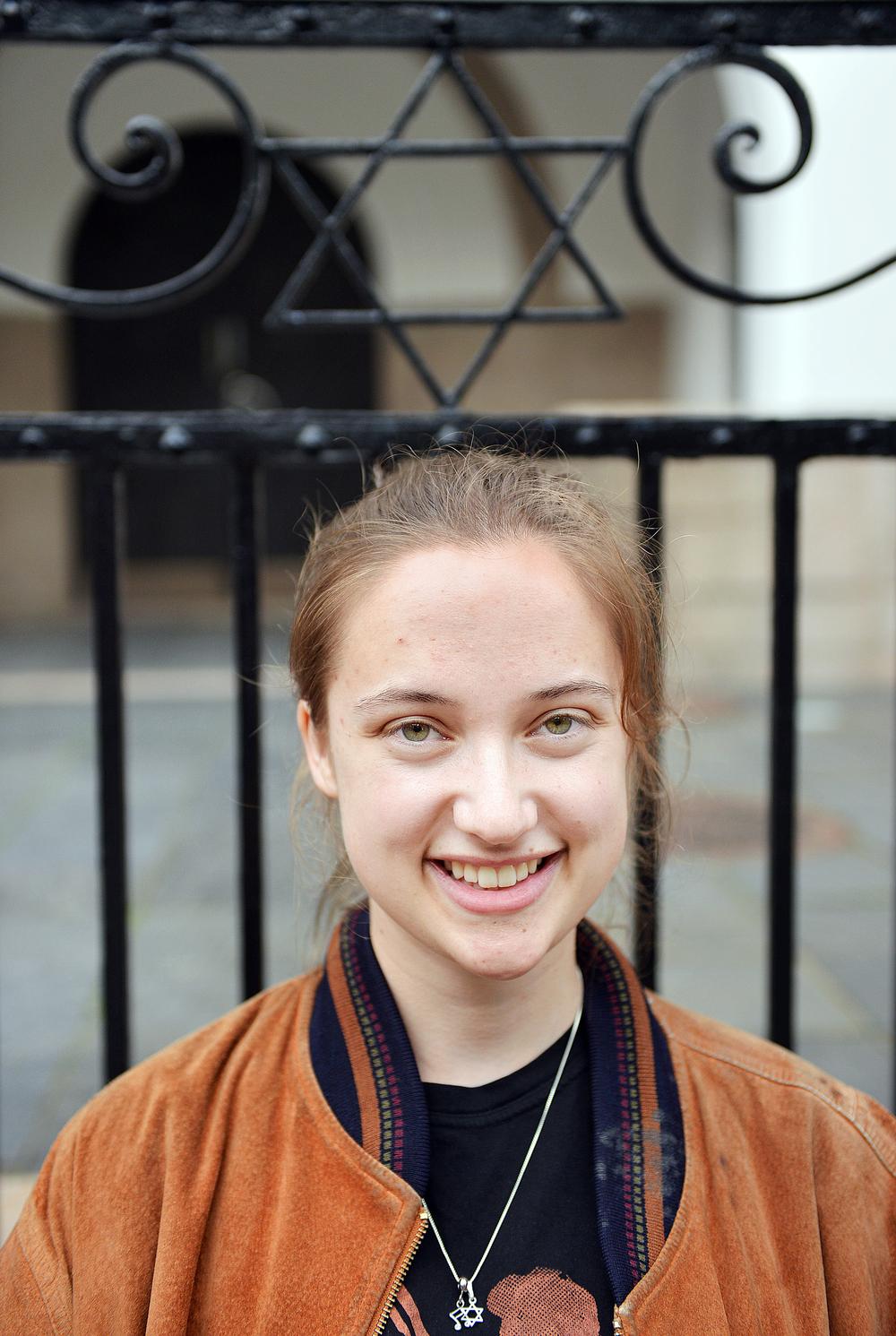 Hedda Savosnick (21). FOTO: Cicilie S. Andersen.