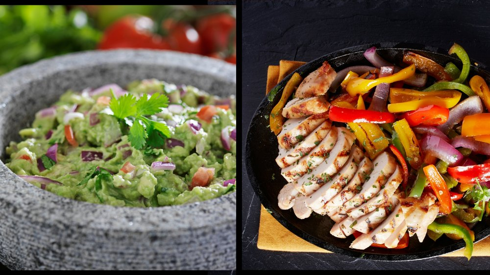 TOP SELLERS: FRESH TABLE GUACAMOLE AND SIZZLING FAJITAS