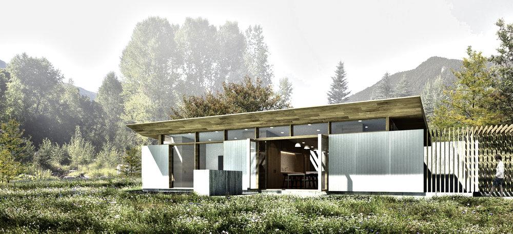 Meadowood Guest House - North Elevation.jpg