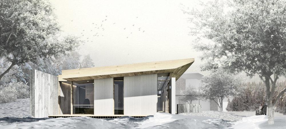 Meadowood Guest House - East Elevation.jpg