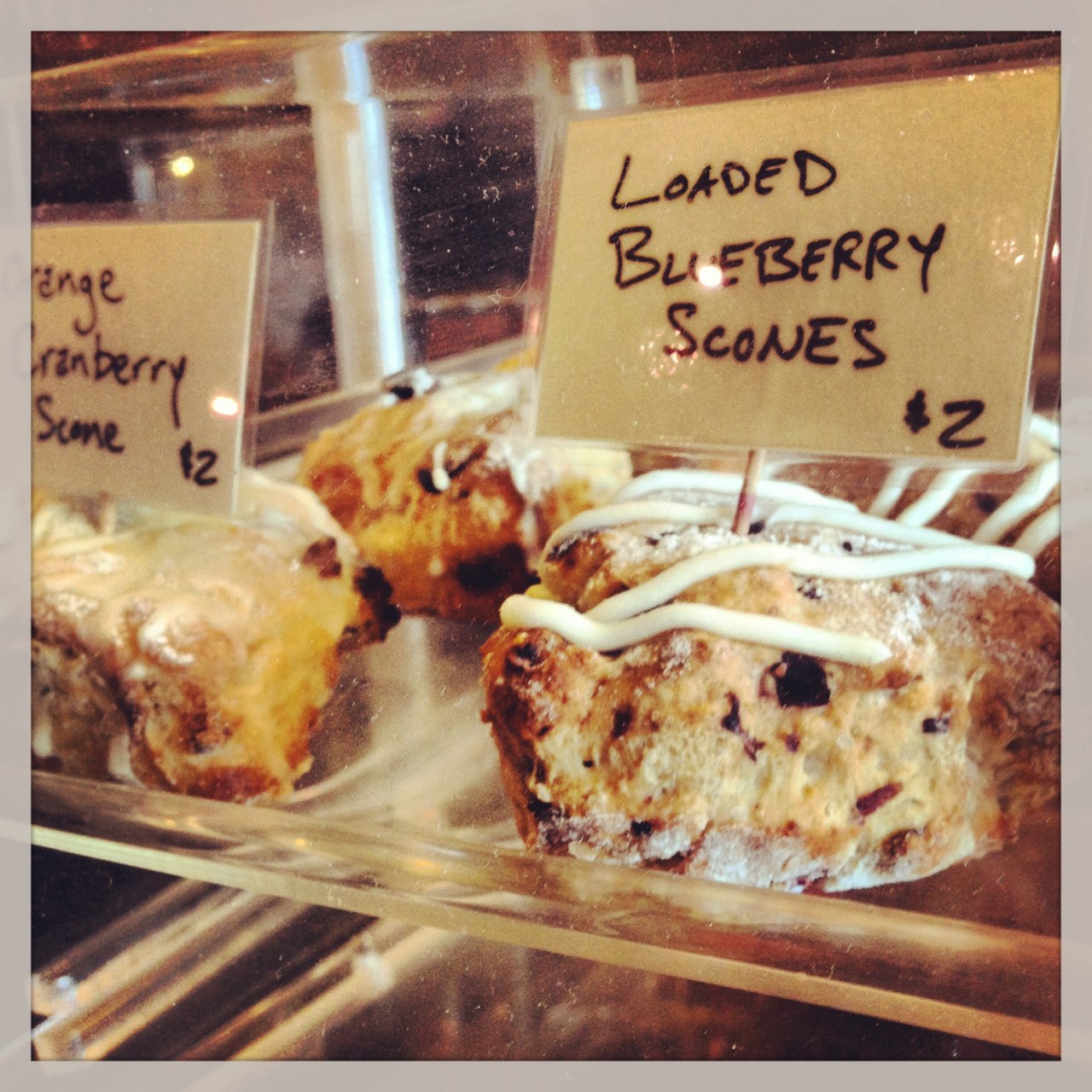 Loaded Blueberry Scones are back, but they won't last long!
