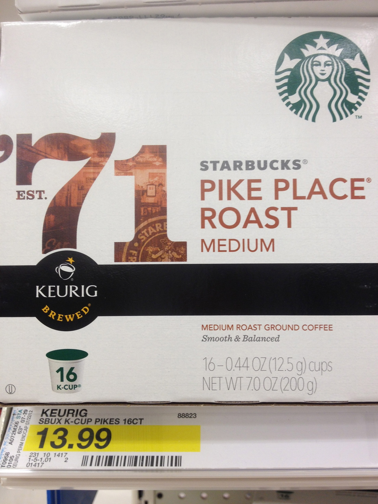 COFFEE AWARENESS MONTH, DAY 2: K-CUPS SUCK. Got a single-serve machine? You may not realize how much you're paying. This is an average priced package, found locally at Target, of 16 K-Cups. Do the math, and you'll see you're paying $32 per pound for this coffee (which, by the way, was likely roasted up to a year ago, then ground up and put into a non-recyclable cup). For literally half the price, you can get beans that are less than three weeks old — not to mention roasted just right and ethically sourced — and save the rest of your hard-earned money for something else. Want to know more about buying and brewing great coffee? It's cheaper, and easier, than you think. Join us on at 1 p.m. this Saturday, Oct. 6, for free tastings of some of the world's best coffees as Spencer's owner Justin Shepherd walks you through the frugal fun of brewing fabulous coffee at home.