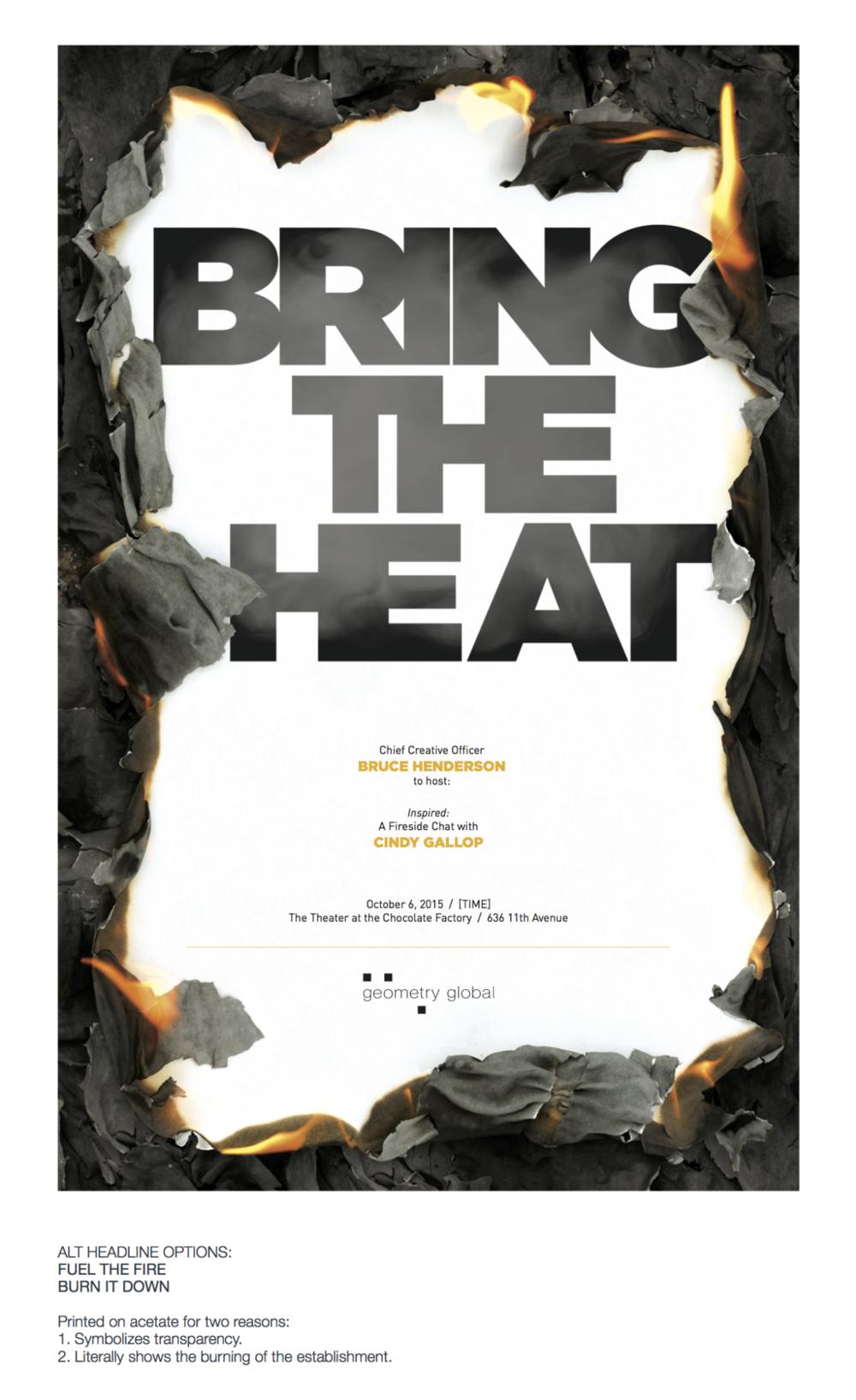 FiresideChat.BringtheHeat