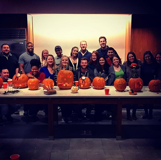 Pumpkin Carving Party was a terrifying success.