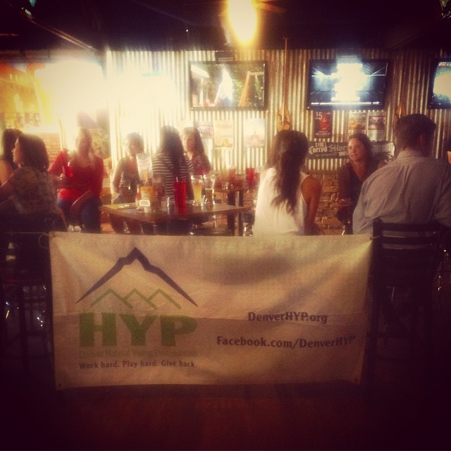 A successful HYP happy hour is in the books. We'll see you all next month! #HYP #happyhour #youngpros #denver