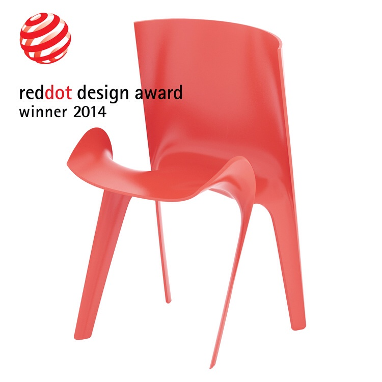caprice chair awarded with the red dot design award 2014 andrea borgogni. Black Bedroom Furniture Sets. Home Design Ideas