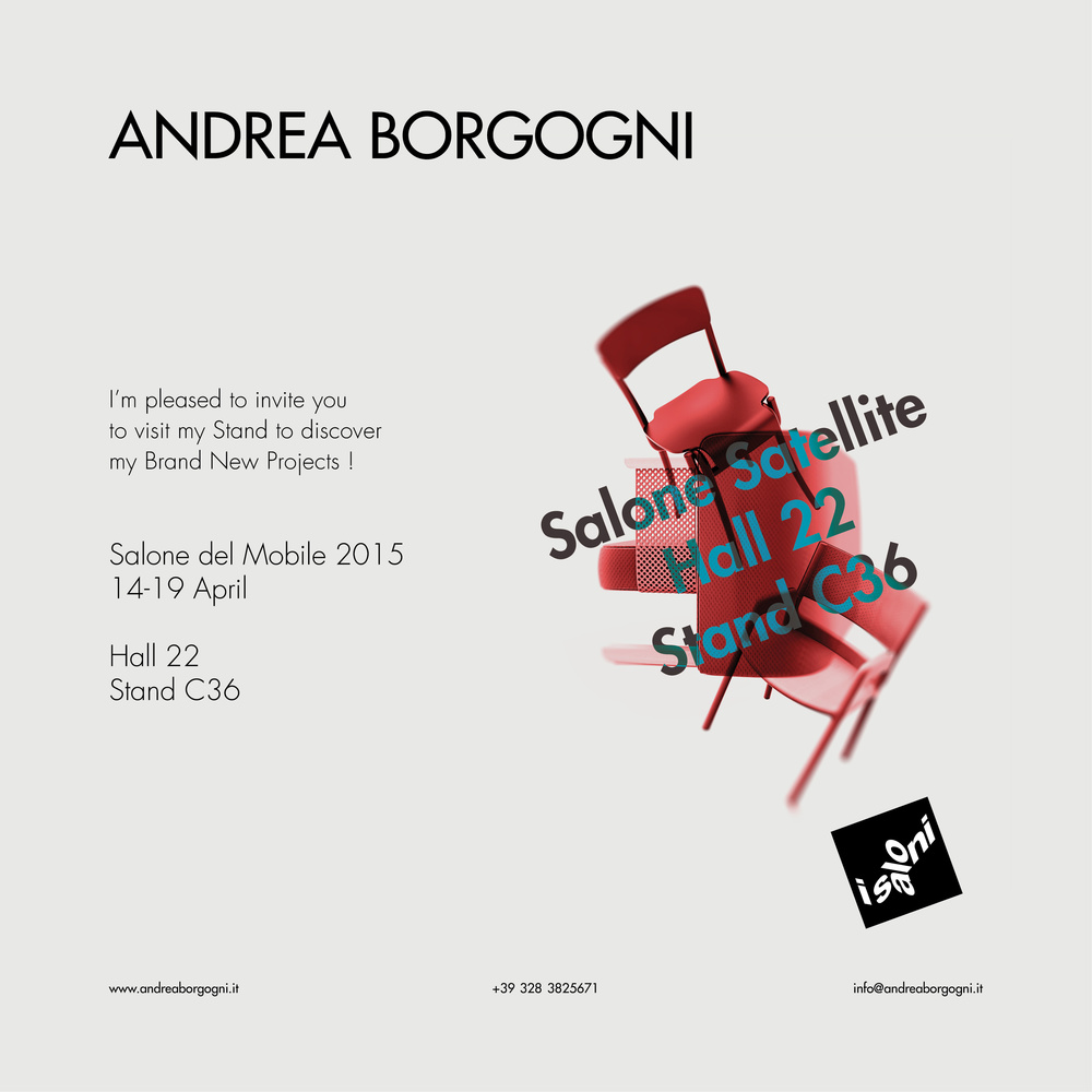 Invitation Salone Satellite 2015