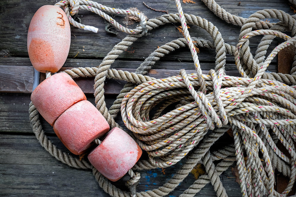 Bouy at the End of the Rope      Maine   Purchase