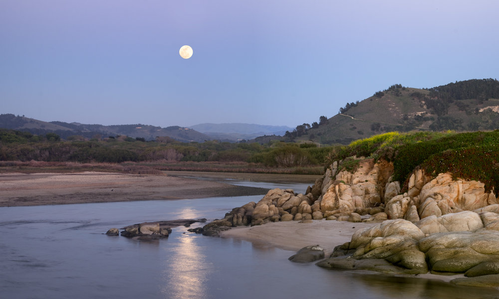Carmel River by the Sea   Purchase