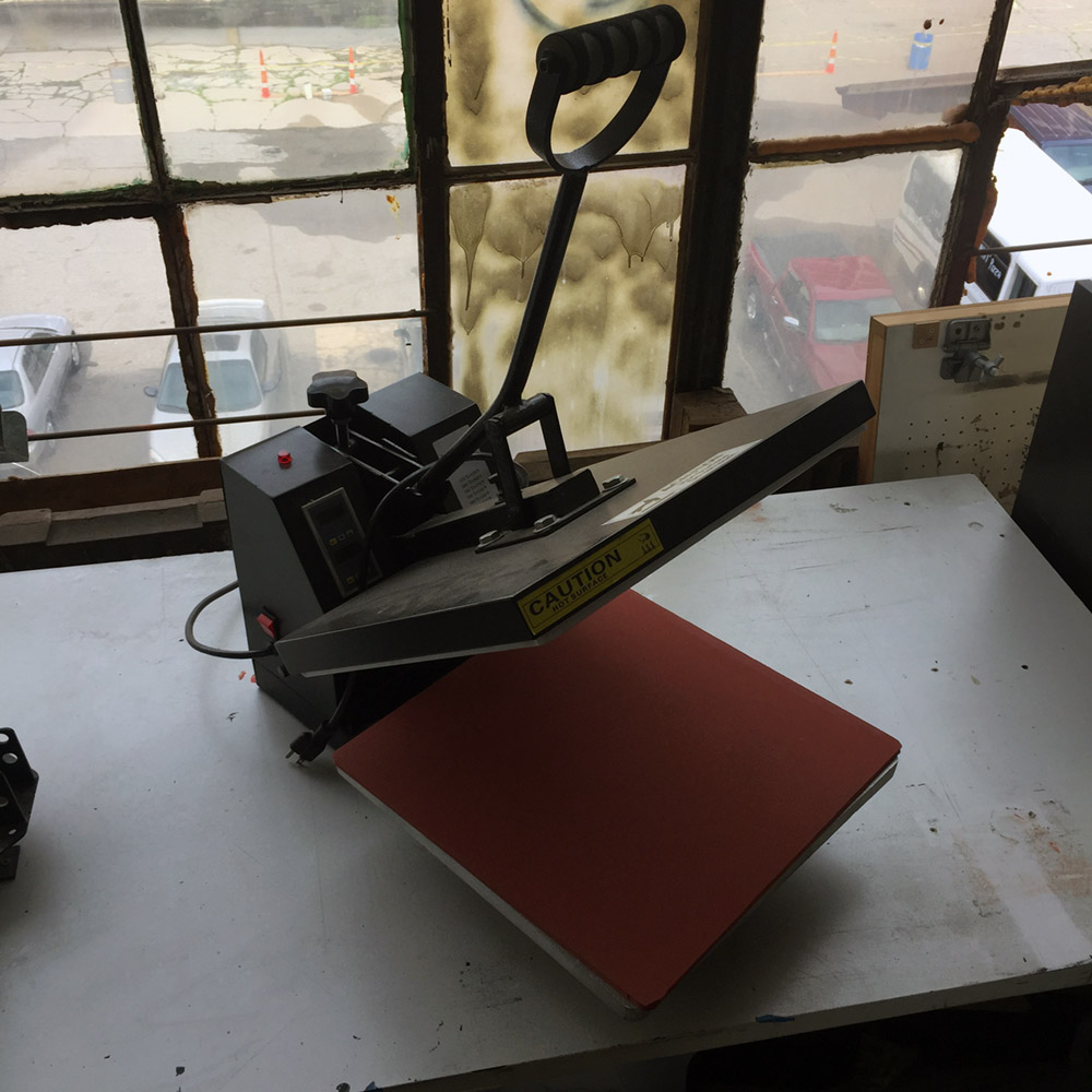 $150 - Heat Press - 15 in x 15 in
